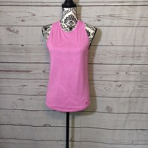 Nike Dri Fit Pink Sleeveless Athletic Top
